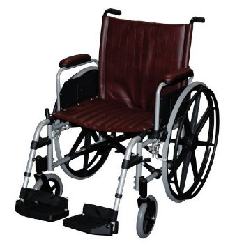 MRI non-ferromagnetic wheelchair