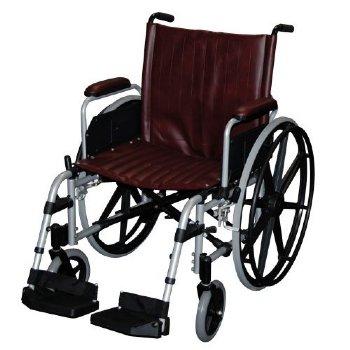 MRI non-ferromagnetic wheelchair