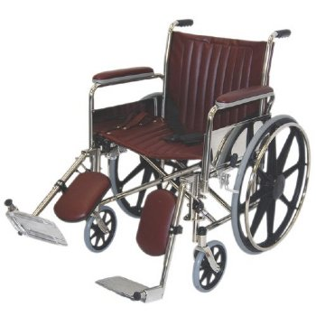 MRI non-magnetic wheelchair