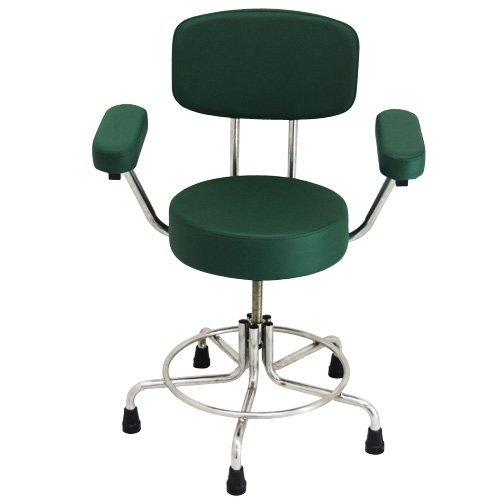 Astonishing Non Magnetic Mri Adjustable Stool 21 To 27 With Rubber Tips Back And Arms Andrewgaddart Wooden Chair Designs For Living Room Andrewgaddartcom