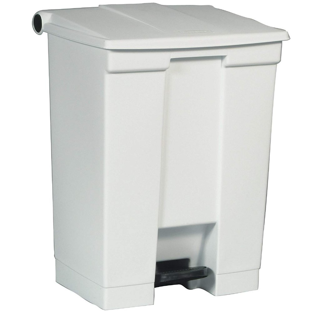 Mri Safe Trash Can With Foot Pedal And Lid